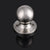 Single Dummy Door Knobs Brushed Nickel Finish, Non-functional Inactive Door Lock DL5763SNDM