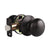 Single Connect Rod Flat Ball Knobs Entry Keyed/Privacy/Passage/Dummy Door Lock Knob Oil Rubbed Bronze Finish DL5766ORB
