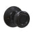 Single Connecting Rod Door Knobs Entrance/Privacy/Passage/Dummy Function Door Lock Knob, Oil Rubbed Bronze Finish - Probrico