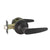 Leaf Style Door Handles Keyed Alike/Privacy/Passage Door Lock Levers Oil Rubbed Bronze Finish DL815ORB