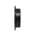 Black Finish Round Flush Pulls and Sliding Door Handles