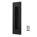 flush pull handle black