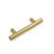 Euro T Bar Cabinet Handles Brushed Brass Finish Kitchen Hardware Drawer Pulls Knobs PD1123HGD