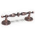 "Retro Handle Antique Bronze/Copper 90mm(3.5"") Hole Centers Drawer Handles Kitchen Cabinet Pulls Knobs - Probrico"