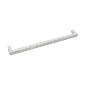 12mm Square Bar Kitchen Cabinet Handles Pulls Brushed Nickel Finish PDDJ27HSS