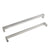 20mm Square Bar Cabinet Handles and Pulls Brushed Nickel Finish Kitchen Hardware PDDJ30HSS