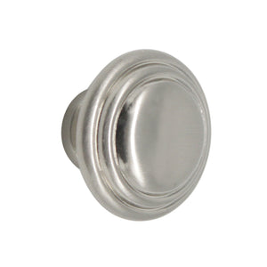 Dresser Drawer Knobs 1 1/3 inch Diameter Satin Nickel Finish - Probrico