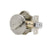 Traditional Arch Single Cylinder Deadbolt Lock Satin Nickel Finish - Probrico