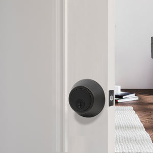 Keyed Alike Deadbolts Lock, Entry Keyed Double Cylinder Deadbolt, Oil Rubbed Bronze Finish