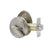 Single Cylinder Deadbolt Locks Satin Nickel Finish - Probrico