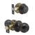 Entry Keyed Door Lock Knob with Single Cylinder Deadbolt, Oil Rubbed Bronze Finish Combo Pack - Keyed Alike DL607ET-101ORB