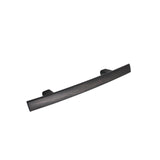 Curved Subtle Arch Cabinet Handles 3inch 76mm Hole Centers Oil Rubbed Bronze Finish PD81670ORB76