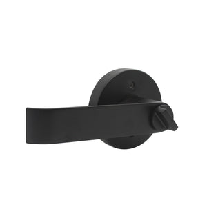 Black Finish Entry Keyed Door Lever Lock with Same Key - Keyed Alike