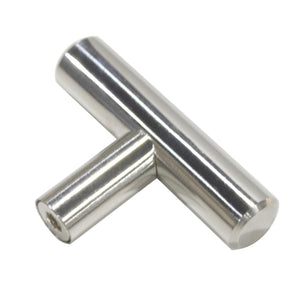 polished chrome cabinet handles