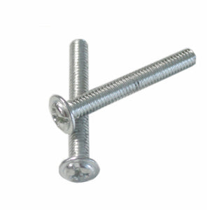 Stainless Steel Mounting Screws for Cabinets Machined Cupboard Door Knob Fixing Screw