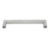 Stainless Steel Cabinet Pulls Square Bar Brushed Nickel Finish Door Handles - Probrico