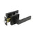 Black Door Handles Heavy Duty Keyed/Keyed Alike/Privacy/Passage/Dummy Door Lock Levers DL01BK