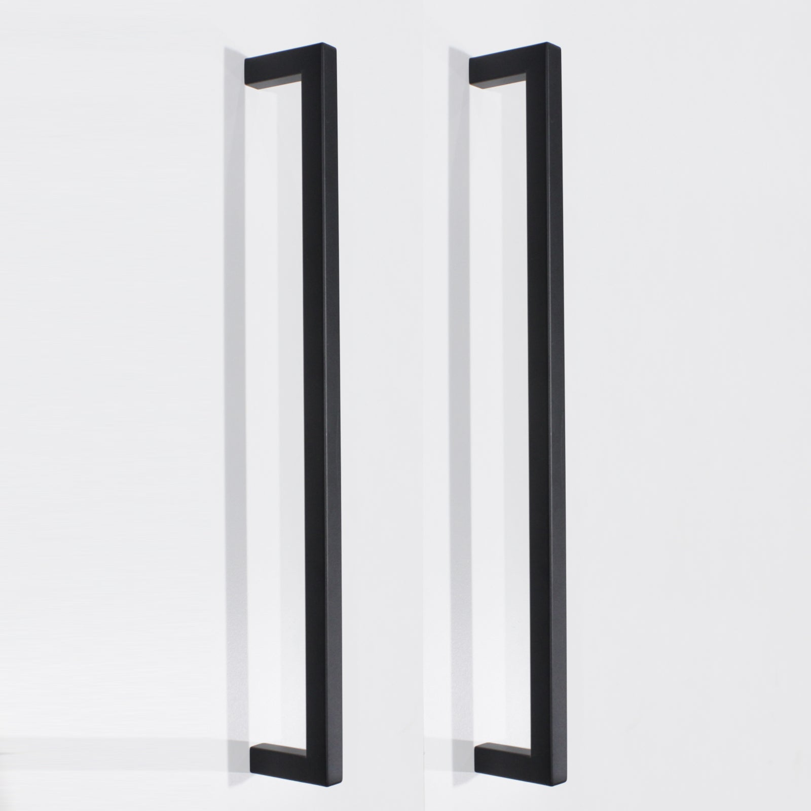 10mm Square Bar Kitchen Cupboard Handle Pulls Black Cabinet