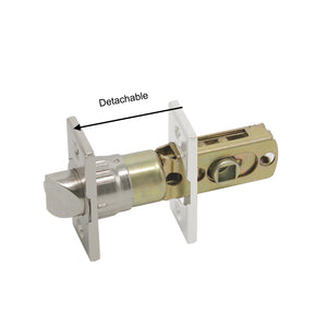 Probrico Square Door Lock Latch with Removable Plate - Probrico