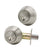 Double Cylinder Deadbolts with Key on Both Side, Keyed Entry Door Lock Satin Nickel Finish DLD102SN