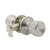 Tulip Style Door Knob Dummy/Privacy/Passage/Entry Keyed Door Lock Knobs Satin Nickel Finish DL591SN