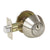 Single Cylinder Deadbolts Keyed Alike, Satin Nickel Finish - Probrico