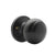 Flat Ball Knob Black Finish Keyed Alike/Keyed/Privacy/Passage/Dummy Door Knobs Locks DL609BK