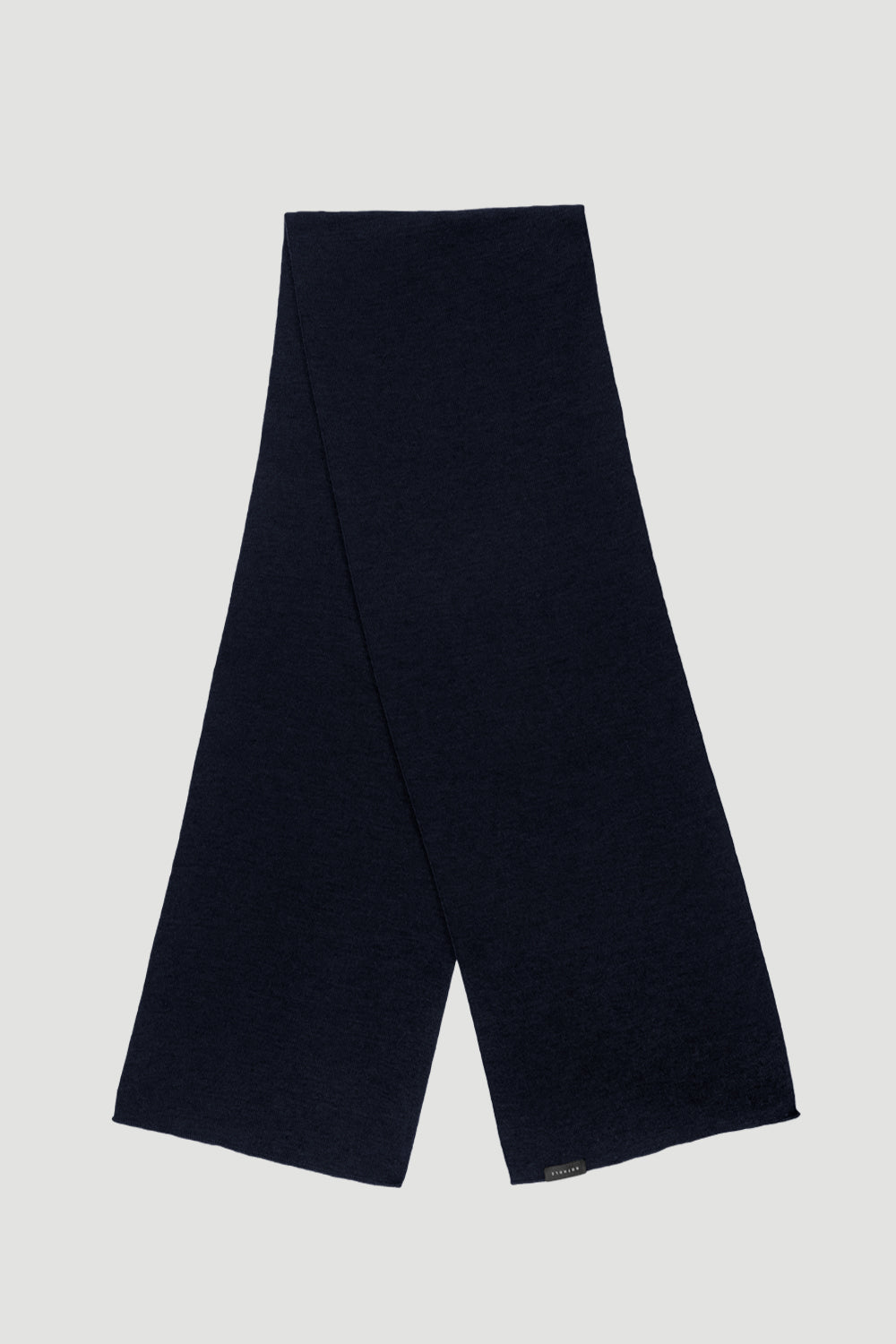 'Basic' Merino Scarf Navy Blue Schal - Rotholz