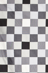 'Quilt 3' Quilted Blanket Patterned Trinkflasche - Rotholz