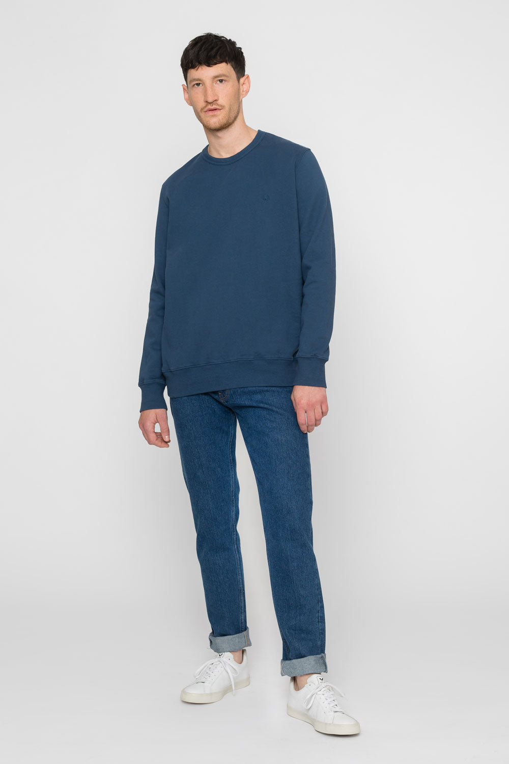 'Rights' Bio Sweatshirt Blau