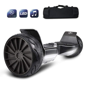 2018 All Terrain Hoverboard Off-Road Racing Tyre Hover Board Smart Self-Balancing Dual Motors Electric Scooter with Built-in LED Lights and Speaker UL2272 Certified  Presented By RideMotorSportsPro
