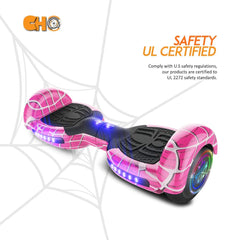 Spider Wheels Series Hoverboard with Built in Speaker