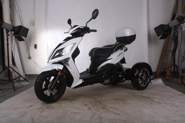 50cc Fully Automatic 3 Wheel Trike Scooter By RideMotorSportsPro