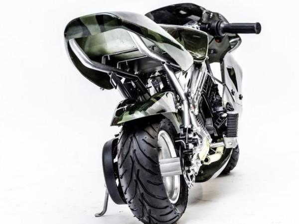 Z3 Army Camo Pocket Bike 50cc