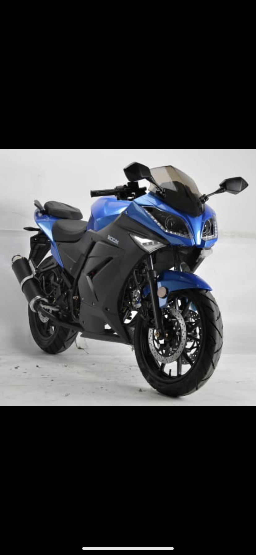 125cc bike customers can pick any color