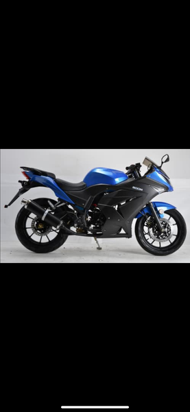 125cc 4 speed manual Motorcycle GT11