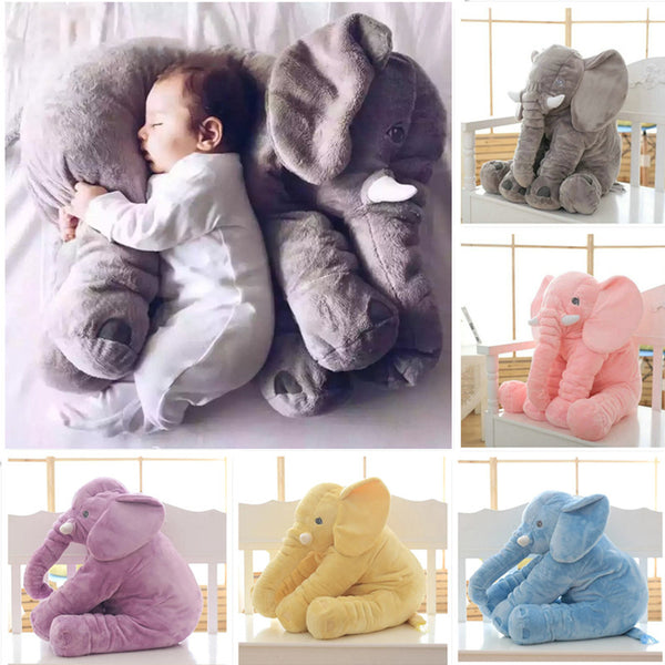 Soft Elephant Stuffed Pillow Toy