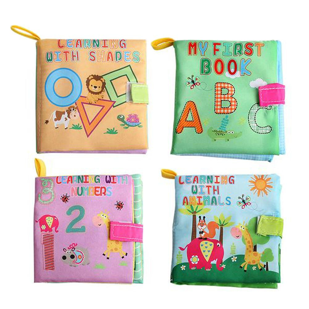 Soft Cloth Educational Baby Books