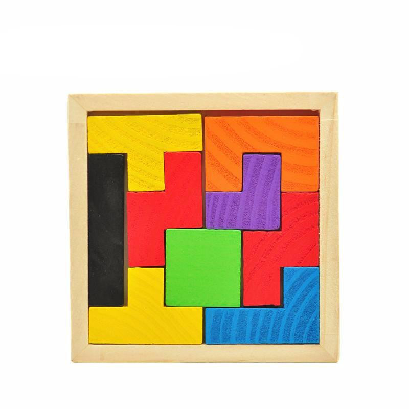 Wooden Tetris Game