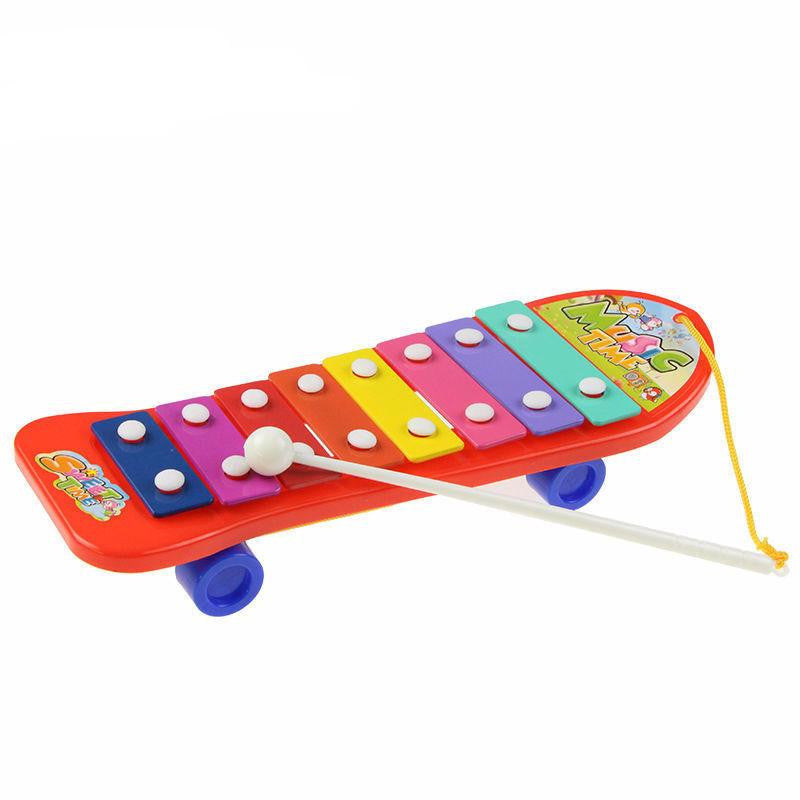 Xylophone Skateboard Musical Toy