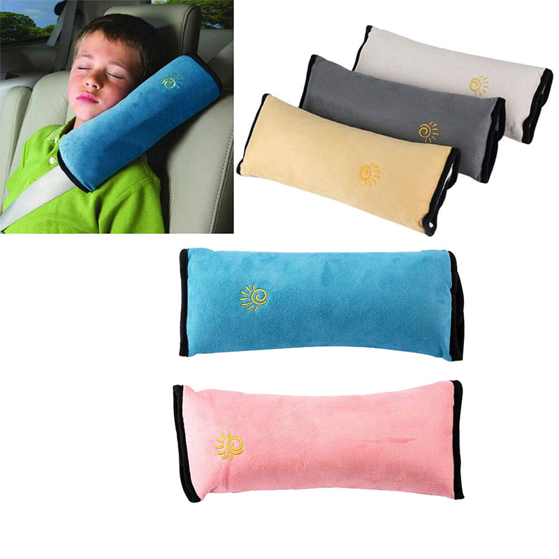 Car Seat Belt Cover and Pillow for Kids