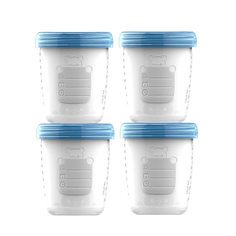 Baby Food Storage Bottles (4pcs)