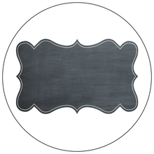 Chalkboard Style Gift Labels