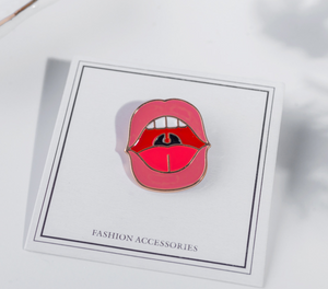 Lip Enamel Pin