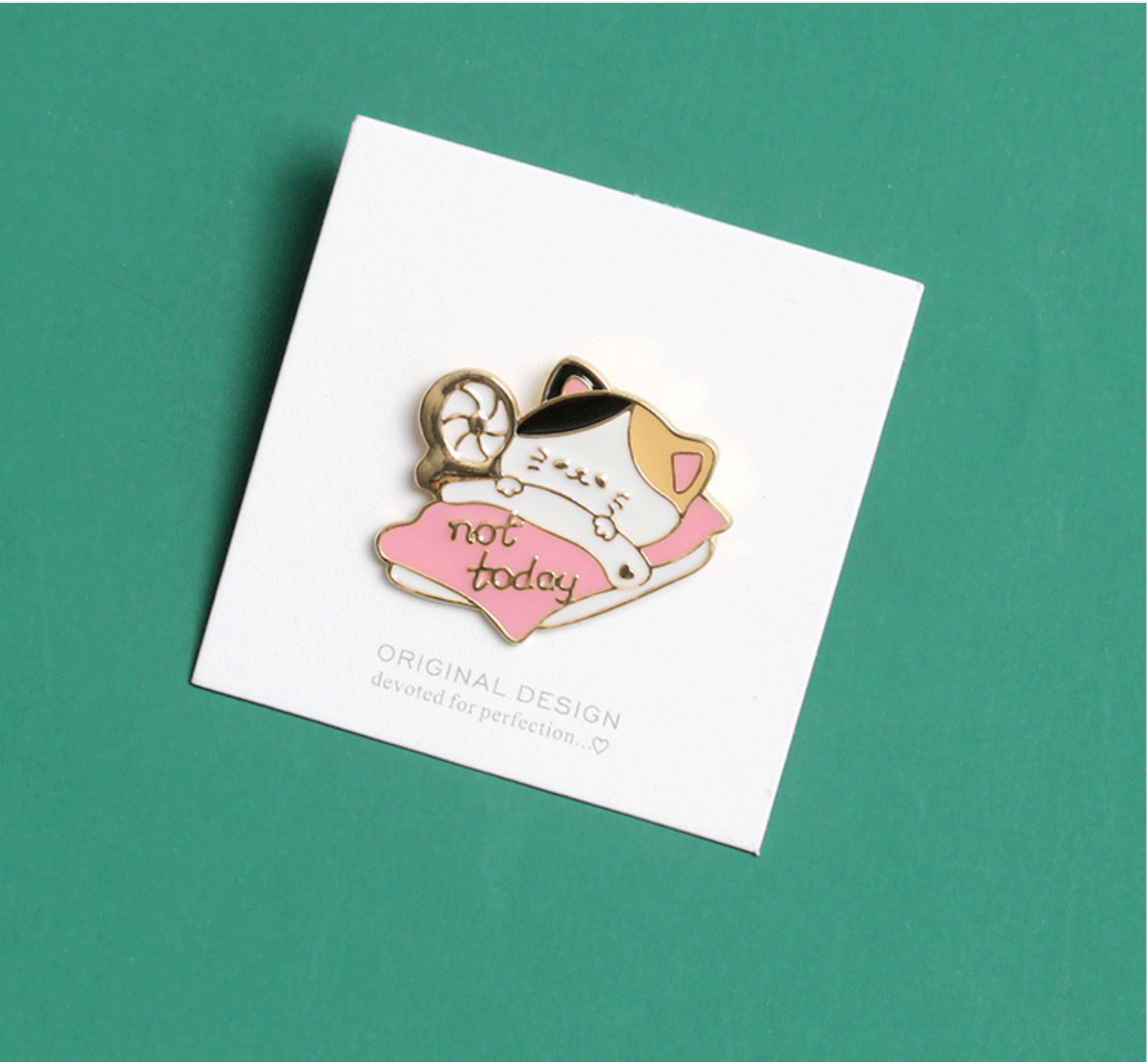 Cat Enamel Pin