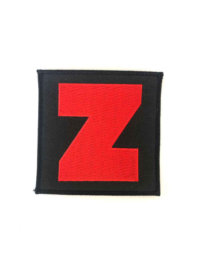 Big Z Embroidered Patch
