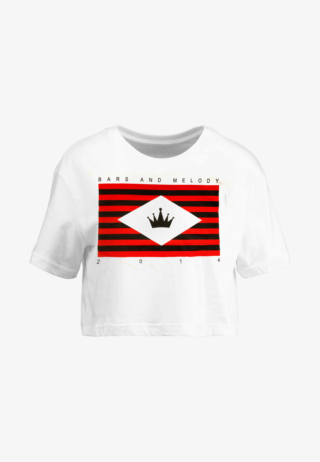 Flag Cropped T-Shirt