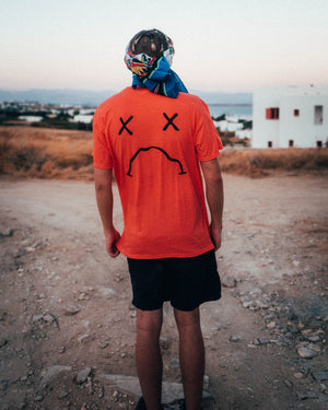 Orange Sad boi Tee