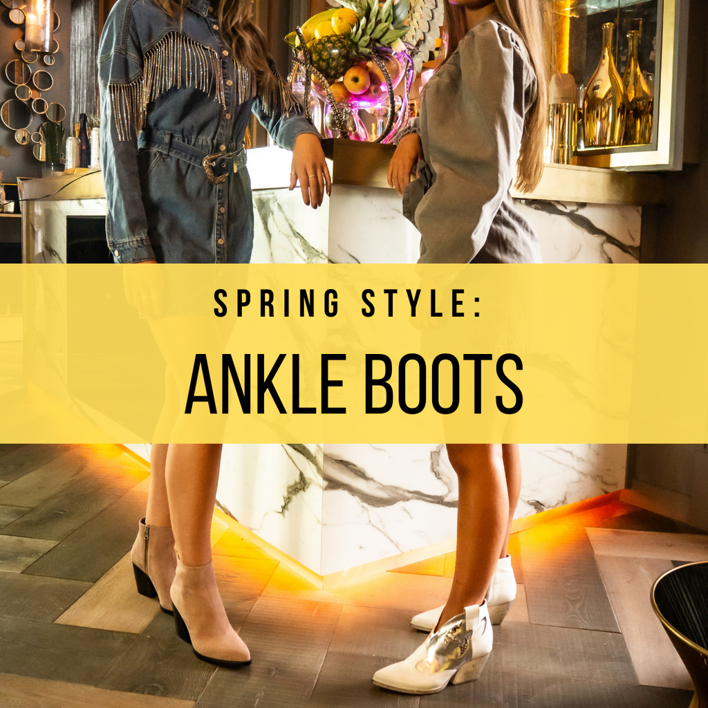 Spring Style - Ankle Boots