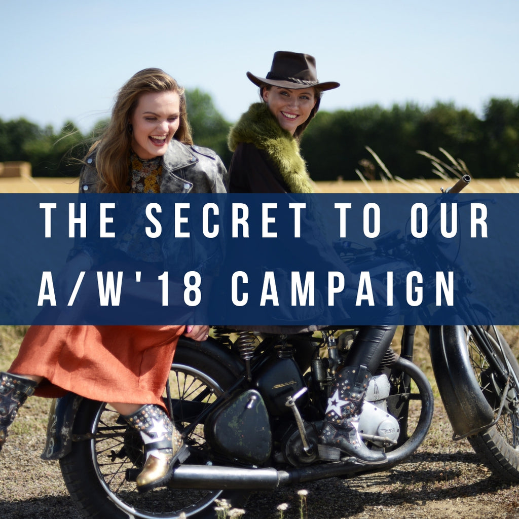 Secrets to our A/W 18 campaign